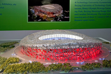 Beijing  Olympische Spiele  Nationalstadion