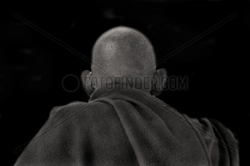 asian portrait  myanmar