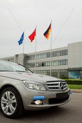 Peking  Mercedes-Benz C-Klasse Produktion.