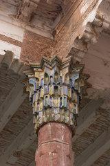 Kashgar  Abak-Hodscha-Mausoleum  Saeule   Kashgar  Abak-Hodscha-Mausoleum  column