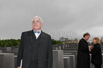 Berlin  Eroeffnung des Denkmals fuer die ermordeten Juden in Europa