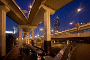Shanghai  Hochstrassen.