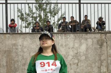 Peking  Wanderarbeiter