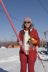 Skifahren in China