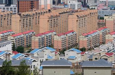Blick auf Urumqi | View on Urumqi