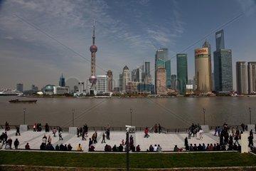 Shanghai  Bund und Pudong