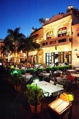 Dominican Republic  Santo Domingo  Zona Colonial historical centre  nightlife
