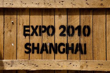 Transportkiste  Schanghai