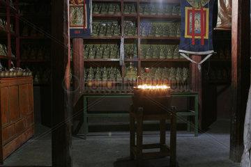 Lhasa  Kloster Mindroling | Lhasa  Mindroling monastery