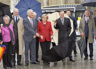 Schavan + Keitel + Ramsauer + Bruederle + Merkel + Wissmann + Peters