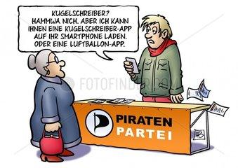 Piratenwahlkampf