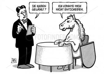 Niedersachsenwahl-Patt