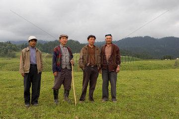 Kasachische Bauern | Kazakh peasant