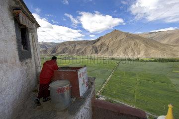 Tibet Kloster Yumbu Lhakang