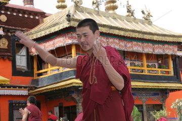 Tibet  Lhasa  Jokhang Tempel