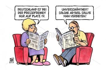 Pressefreiheit-Ranking