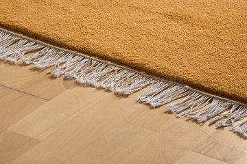 Haushalt: Parkett mit Teppich