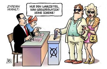 Zypern-Wahl