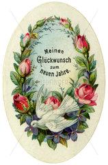 Neujahrswuensche  1895