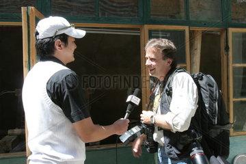 Tibet  Interview mit auslaendischem Fotografen