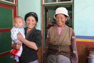 Tibet  Weberei