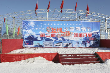 Skifahren in China