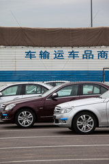 Peking  Mercedes-Benz C-Klasse Produktion.
