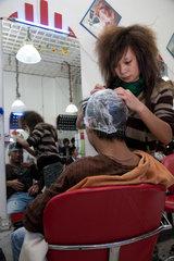 Peking  Friseur