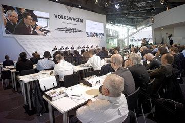 Jahrespressekonferenz VW