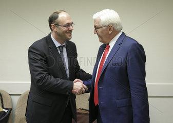 Treffen der NATO - Aussenminister