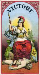 roemische Siegesgoettin Victoria  Victory  1895