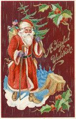Santa Claus  amerikanischer Weihnachtsmann  1913