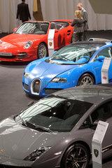 Lamborghini + Bugatti + Porsche