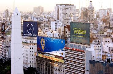 Stadtansicht Buenos Aires