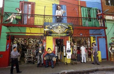 Strassenszene in Buenos Aires
