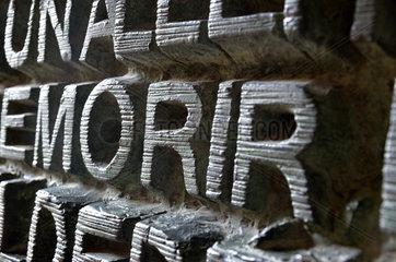 Sagrada Familia - Detail Morir aus einer Fassade