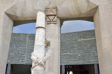 Sagrada Familia - Jesus an der Passionsfassade