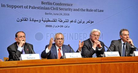 Solana + Fayyad + Steinmeier + Blair