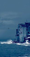 Haus am Meer Haus am Wasser Haus in der Brandung
