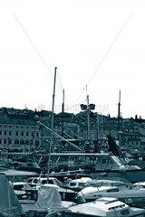 Hafen Boote im Hafen