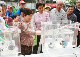 China  Wasser sparen im Haushalt