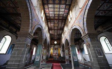 China  Katholische Kirche in der Yunnan Provinz