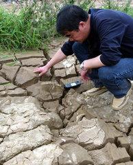 China  Trockenheit / Duerre in der Guangxi Zhuang Region