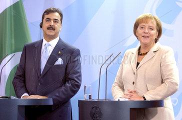 Raza Gilani + Merkel