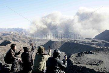 CHN  China  Kohlefeld mit Taixi-Kohle in Rujigou