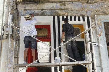 Kunst Biennale 2015 in Havanna Vieja