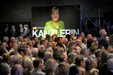 CDU-Wahlabschlusskundgebung