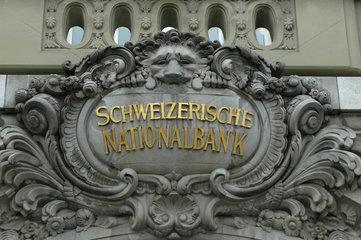 Schweizerische Nationalbank  Bern  Schweiz.