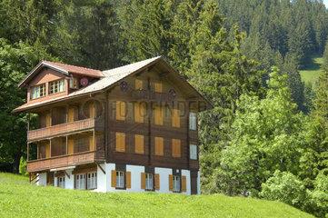 Ferienhaus im Berner Oberland  Schweiz.