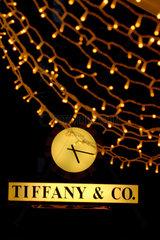 Tiffany & Co. an der Bahnhofstrasse 14 in Zuerich  Schweiz.
